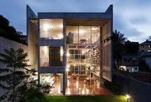 Modern & Unique Homes / by Doris Diaz