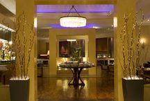 Outlets / The culinary treasures of Hyatt Regency Belgrade are represented through the modern elegance of the Metropolitan Grill restaurant, offering an innovative menu combining international and local flavours.  The cosy Tea House is one of the favourite meeting places in Belgrade, specialising in aromatic teas, coffees, fine pastries and cakes served in a trendy lounge setting.  The Bar is a stylish and sophisticated perfect place for intimate business meetings.  / by Hyatt Regency Belgrade