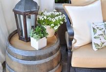 Backyard & Patio / Decorating ideas for your backyard that you may or may not get to