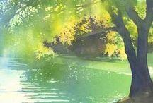 * Watercolor *