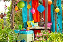 colorful living