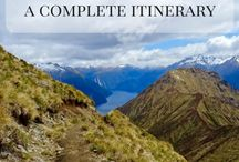 Travel in New Zealand / When you're planning a trip to New Zealand, look here for all the best New Zealand itineraries and places to go in New Zealand. #travel #newzealand