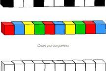 teaching math Patterns / by Kelli Holmes
