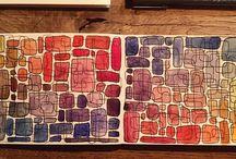 sketchbook pav vodovky