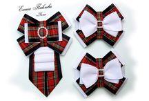 Kokardy, muszki, krawaty