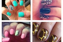 Animal Print Nailart I want to try....