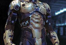 robotic figures