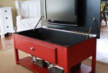 Hide tv in furniture