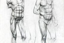 anatomi karakalem
