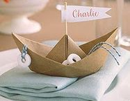 {Nautical/Sailboat} Baby Shower / Nautical or sailboat baby shower ideas and inspiration on www.partyfrosting.com