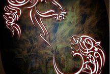 Animaux dans la calligraphie arabe / by Lina Asfouri