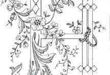 Abeceda kreslenie-Ornamenty