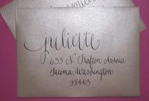 Calligraphy / by Whittlee Hamblin