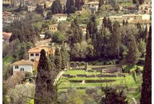 "Fiesole / Sophia retreats to this small town set in the hills above Florence to escape the noise and dream her dreams! Fiesole is also home to the ""Donna Bianca"" the lovely ghost who haunts a medieval castle. Sophia's muses follow her to Fiesole's Roman ruins... as well as her mystery man!"
