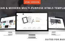HTML5 Templates by Milothemes / Here you will find our latest HTML5 Templates created special for your needs. #html5 #business #creative #parallax #revolution-slider #onepage #contactform #bootstrap #grid #envato #themeforest #jquery