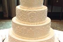 August Wedding Cakes / Deena & Matt / by Deena Marie