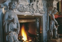 Fireplaces, fire, and heat / by Kirsten Parris