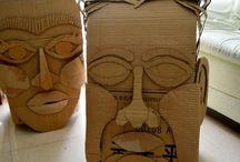 Big head masks