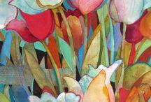 Art: Wendy Westlake, watercolorist