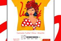 Mis Gitanas -Camisetas- / www.misgitanas.es