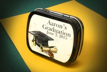"Graduation Party Favors / ""You are never too old to set another goal or to dream a new dream..."" - C.S. Lewis"