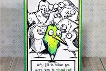 Cards- Bird Crazy