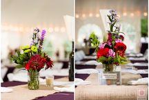 CENTERPIECES galore / Amazing centerpieces that pop. #weddings #centerpieces #nepweddings #weddingphotography