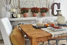 HOME | dining room / Ideas and inspiration for dining rooms that I love.