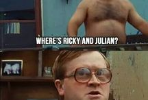 Sunnyvale Trailer Park / Ricky, Julian and Bubbles. Need I say more???  I wish I lived in Sunnyvale / by Anne Lucas