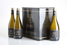 Botellas vino / Adegas Valmiñor cartera de vinos