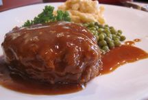 RECIPES: WITH MEAT (beef, pork) / by Jane Tindall