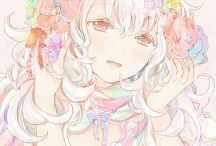Pastel - anime grils ans boys