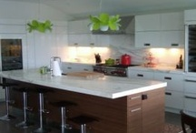Gloss White Kitchen / by Design-Craft Cabinets