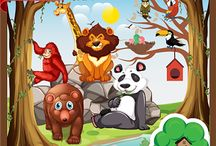 Zoo Ki Sair in Urdu / Zoo ki Sair application is the product of Little Tree Application and eBooks, for introducing Kids to Animals, Birds and Fishes in a virtual fun tour to zoo.  This application has been designed to presents various Animals in a zoo. The game introduces various Animals to the child to stimulate the child's senses through pictures, sounds and touch. Download Now  https://play.google.com/store/apps/details?id=com.littletreehouseapps.zoo