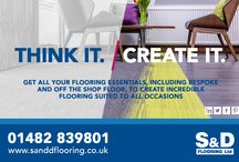 Think it Create it / Latest offers and news from the #BoysinBlue at S&D Flooring.