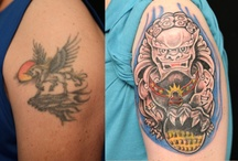 Coverup tattoos / From episode 101 of Ink Master / by SPIKE Ink Master