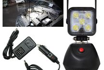 Work Light Portable Rechargeable Magnetic Base 15W Flood