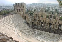 Theater of Herod Atticus! / Below the Acropolis is the theater of Herod Atticus built by the Romans in 161 AD and  still used today for classical concerts, ballet, performances of high cultural value.
