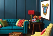 Rich Colour palette / Using navy to great effect.