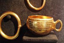 Tesoros / Interesantes piezas de orfebrería prehistórica