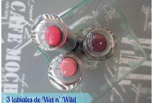 Labiales MegaLast Lip Color de Wet n' Wild / Labiales MegaLast Lip Color de Wet n' Wild: packaging y swatches