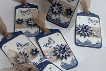 stamping up tags