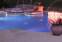 C&L Vinyl Liner Pool Photos / Custom manufactured galvanized or stainless steel wall pools with vinyl liners.