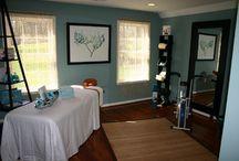 Massage room ideas / by Christie Brinkley
