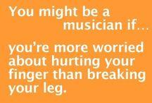 Muzikanten humor / Muziek maken is een serieuze zaak....haha.... www.fanfarecorps-hs.nl