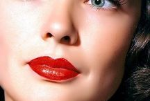 Hot Red Lips.
