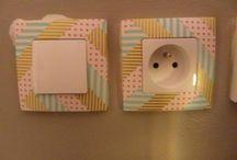 Masking tape home