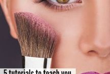 Makeup Tutorials / All about how to apply makeup. Step-by-step tutorials, tips and tricks.