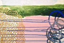 Earth II / Art line form strata