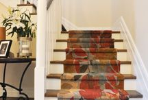 Staircase Runners / Dress Your Staircase in Bespoke Selections from TSAR